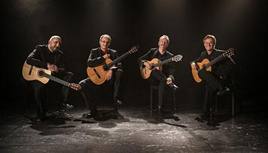 Eos Guitar Quartet, Switzerland, 2015
